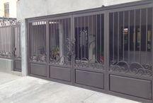portões de alumínio
