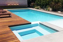 Swimming Pool Trends & Designs / Thinking of installing a swimming pool? We understand that arriving at the right pool idea can be quite tough. For more ideas and advice check out the CompletePlace guide to pool landscaping trends.