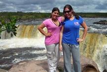 Parque Nacional Canaima - Venezuela / La Gran Sabana, monte Roraima y el Salto Ángel (el más alto del mundo) se encuentran en el Parque Nacional Canaima, al sur de Venezuela. // Gran Sabana, Mount Roraima and Angel Falls (highest waterfall in the world) are located in Canaima National Park, to the South of Venezuela.