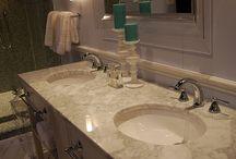 Master bathroom & bedroom