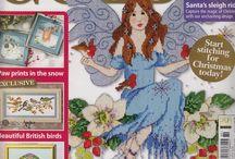 Cross Stitch -  Magazine with Patterns