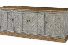 sideboards and console tables. / These versatile pieces are great for a media center, dining room storage, entry table, sofa table or office sideboard. The possibilities for use are endless.