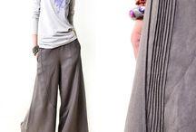 sukně kalhotová