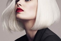 Platinum hair / Love the perfect cut and color  / by LuAnna I