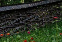 Willow fences