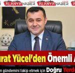Adem Murat Yücel'den Önemli Açıklama