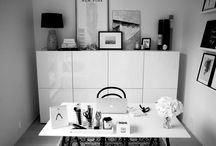Työ/vierashuone