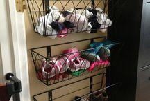 home storage organisation