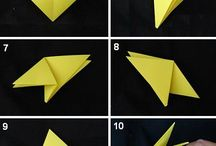 Origami / How to do certain things with origami :)