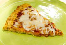 Califlower pizza
