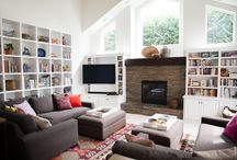 Fireplace Wall / by Rebecca Taylor