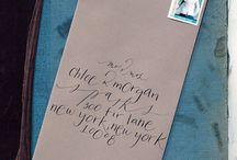 calligraphy / by Mary Jones