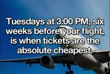 plane tickets / by Lisa Lacher
