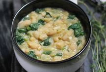 Soup beanspinach