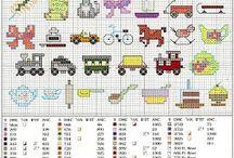 Mini motifs cross stitch