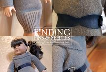American Girl Clothing Ideas / Ideas for things to make for American Girl and other 18 inch dolls / by Nicole Voss