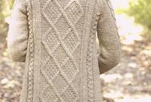 Knit patterns for Mel.