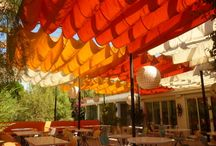restaurant and café terrace
