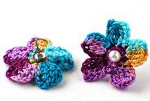 Crochet Accesories /  earrings