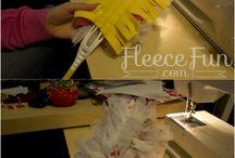 Fleece projects gone wild