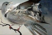 Лёша Курбатов, иллюстрации