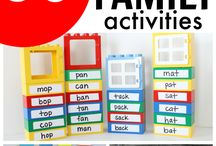 Word family activities