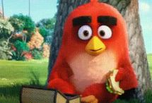 Red / He doesn't have anger issues. In fact you have anger issues for implying he has anger issues. Bet you feel embarrassed now, huh? / by Angry Birds