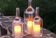 Projects for my wine bottles / by Ashley Agee