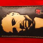 IPhone veg tan leather sleeve/cover /slim case /The Godfather/Marlon Brando