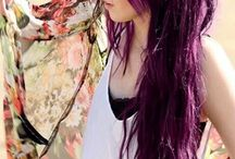 Capelli violet