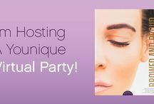 Younique Virtual Party / https://www.youniqueproducts.com/Samtastics