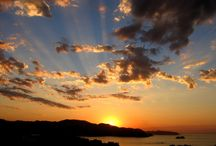 Sunrise to sunset / Turn your face to the sun and the shadows fall behind you ~ Maori Proverb