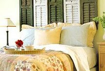 Master Bedroom Ideas / by Jennifer Stutler Churches