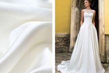 Svadobné tkaniny
