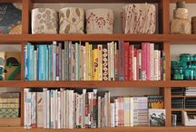 Bookshelves / by Heather Stull