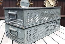 Vintage Industrial Decor - Practical and Decorative