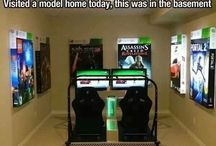 Game room/home theater decor