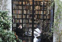Кабинет, библиотека