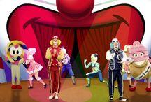 músicas de circo