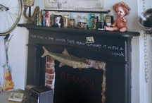 chalk board ideas.............................. / chalk board inspirations