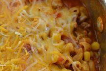 Casseroles/One pot meals