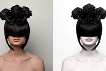 Before/After retouching, post processing / Before/After