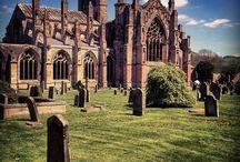 The Scottish Borders Abbey Trail / The war ravaged #Scottish Borders has some of the country's best ruins and few are better than the those on the Abbey Trail.  #history
