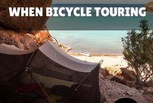 lugares camping bici