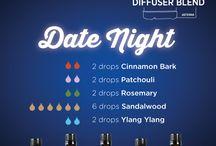 { Doterra Diffuser blends essential oils }