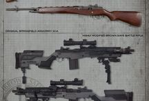 Weapons / by Keith Erwood