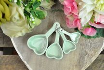 Pastel Kitchen / Accessories and decoration for the kitchen in pastel hues