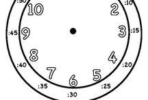 Engelsk / Telling time