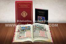 Facsímiles Club Bibliofilo Versol / Facsímiles de Códices Medievales de gran calidad impresos y editados por Club Bibliófilo Versol Editorial.