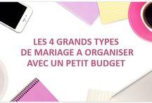 Vidéo de conseils pour organisation mariage petit budget / Découvrez les 6 règles d'or pour organiser un beau mariage avec un petit budget ou les 4 grands types de mariage qu'il est possible d'organiser avec un petit budget.
